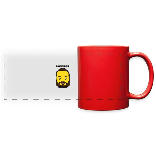 Downphoenix Face Mode - Full Color Panoramic Mug