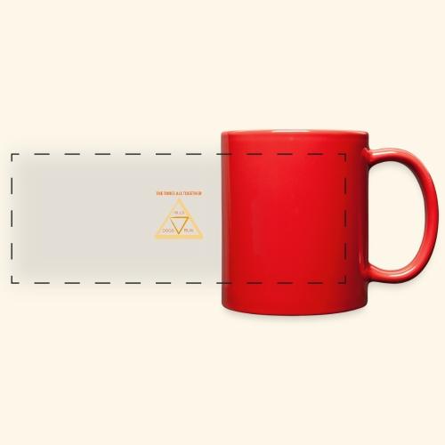 Run4Dogs Triangle - Full Color Panoramic Mug