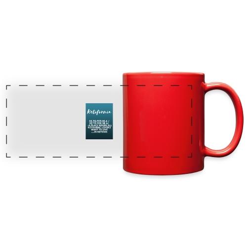 Ketofornia - Full Color Panoramic Mug