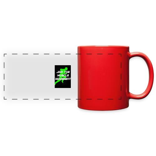 muscle movement - Full Color Panoramic Mug