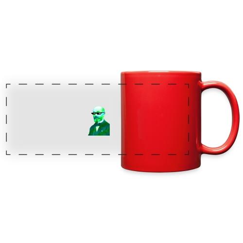 Green and Blue Zamenhof - Full Color Panoramic Mug