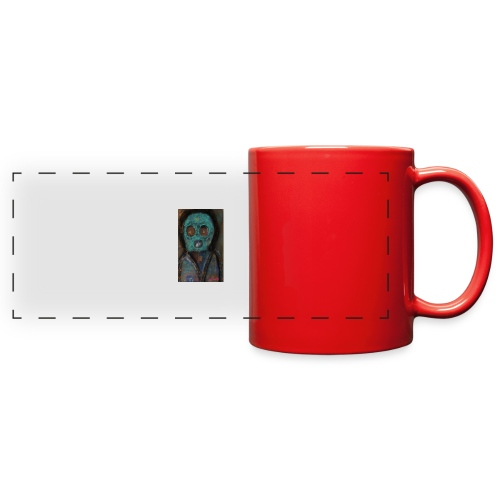 The galactic space monkey - Full Color Panoramic Mug