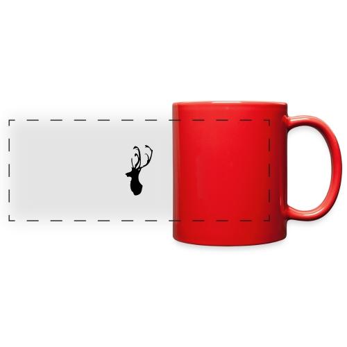 Mesanbrau Stag logo - Full Color Panoramic Mug