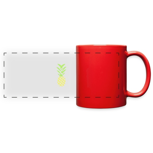 Pineapple flavor - Full Color Panoramic Mug