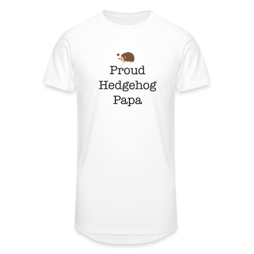 Proud Hedgehog Papa - Unisex Oversize T-Shirt