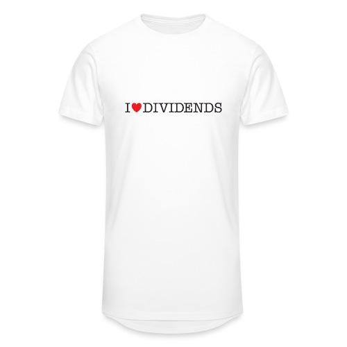 I love dividends - Unisex Oversize T-Shirt