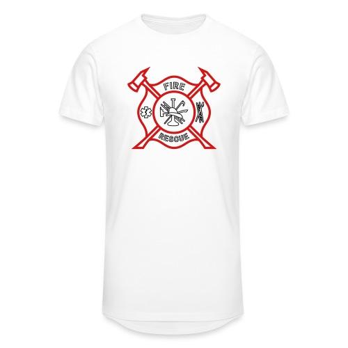 Fire Rescue - Unisex Oversize T-Shirt