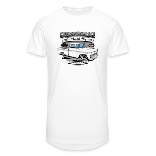 Greasy's Garage Old Truck Repair - Unisex Oversize T-Shirt
