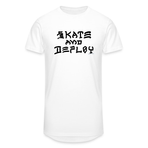 Skate and Deploy - Unisex Oversize T-Shirt