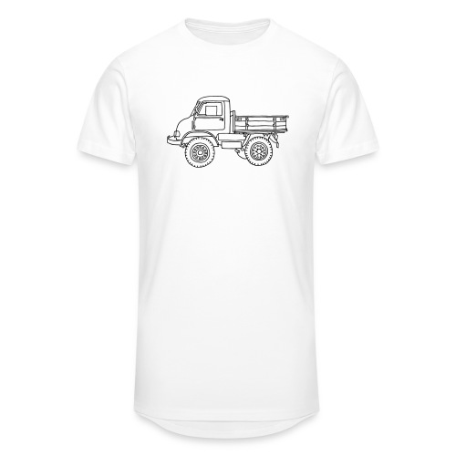 Off-road truck, transporter - Unisex Oversize T-Shirt