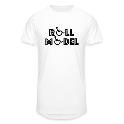 Every wheelchair users is a Roll Model - Unisex Oversize T-Shirt