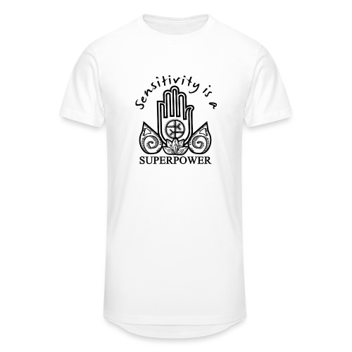 Sensitivity Is A Superpower - Unisex Oversize T-Shirt