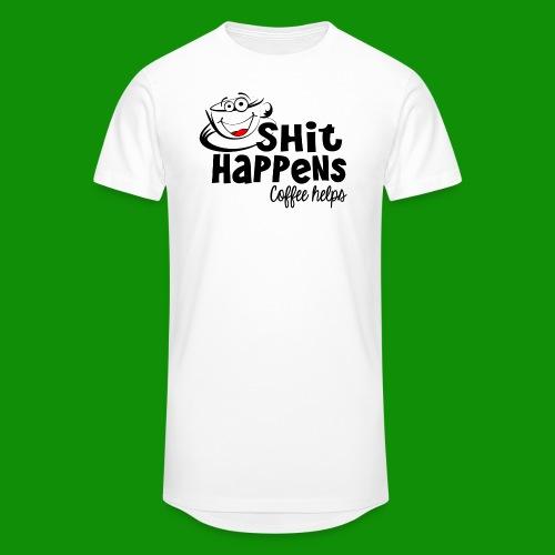 Sh!t Happens Coffee Helps - Unisex Oversize T-Shirt
