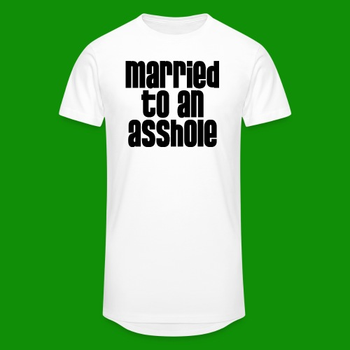 Married to an A&s*ole - Unisex Oversize T-Shirt