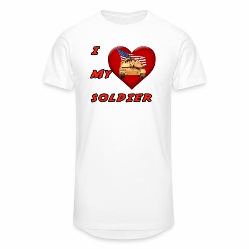 I Heart my Soldier - Unisex Oversize T-Shirt