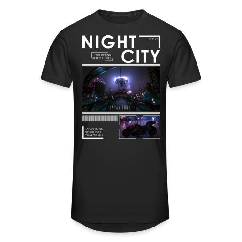 Night City Japan Town - Unisex Oversize T-Shirt