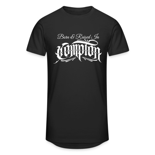 born and raised in Compton - Unisex Oversize T-Shirt