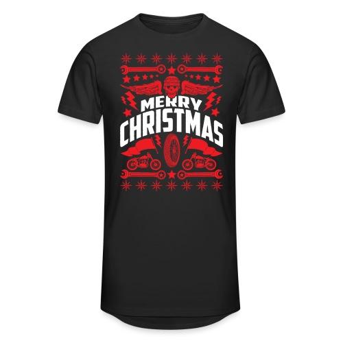 Biker Ugly Christmas Sweater - Unisex Oversize T-Shirt