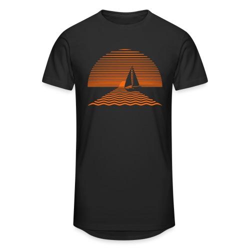 Sunset Sailboat - Unisex Oversize T-Shirt