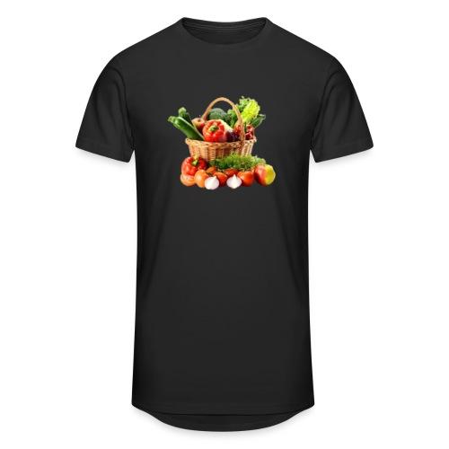 Vegetable transparent - Unisex Oversize T-Shirt