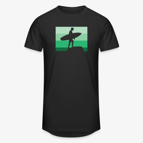 Surf Shadow Green - Unisex Oversize T-Shirt