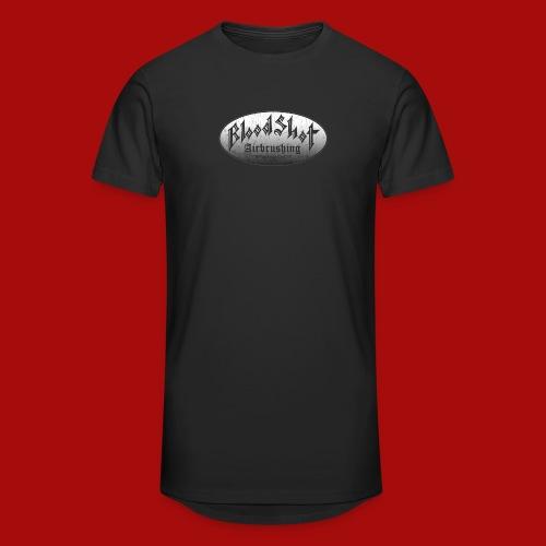 BloodShot Airbrushing Logo - Unisex Oversize T-Shirt