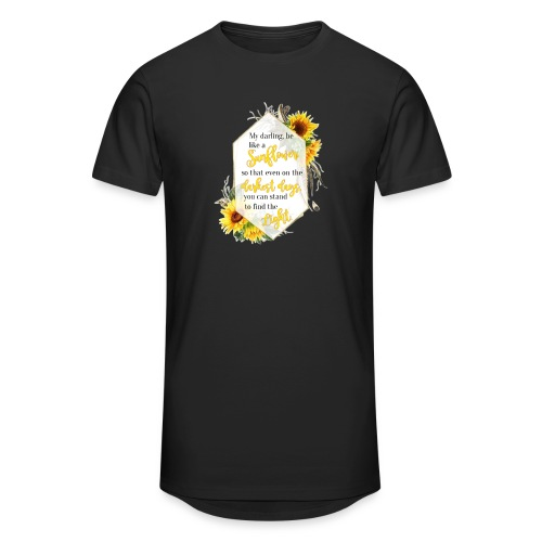 Be a Sunflower - Unisex Oversize T-Shirt
