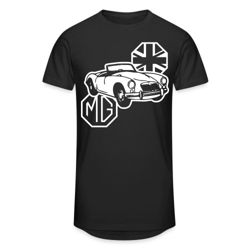 MG MGA Classic British Sports Car - Unisex Oversize T-Shirt