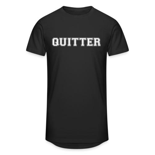 Quitter - Unisex Oversize T-Shirt