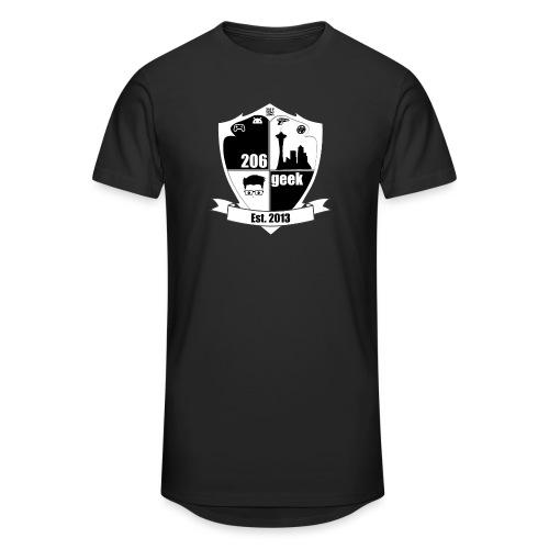 206geek podcast - Unisex Oversize T-Shirt