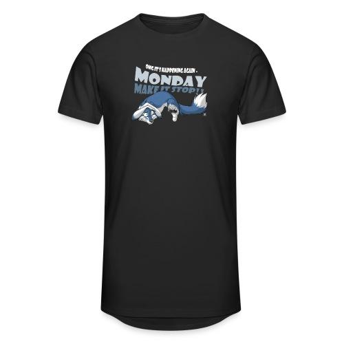 Monday - Make it stop! (blue) - Unisex Oversize T-Shirt