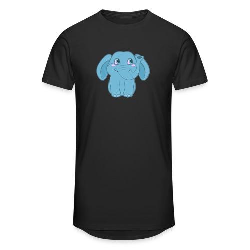 Baby Elephant Happy and Smiling - Unisex Oversize T-Shirt