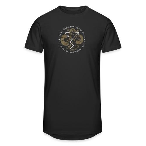 Witness True Sorcery Emblem (Alu, Alu laukaR!) - Unisex Oversize T-Shirt