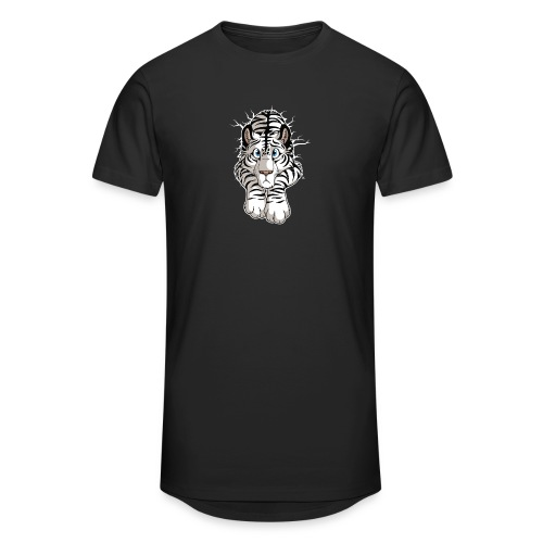 STUCK White Tiger - Unisex Oversize T-Shirt
