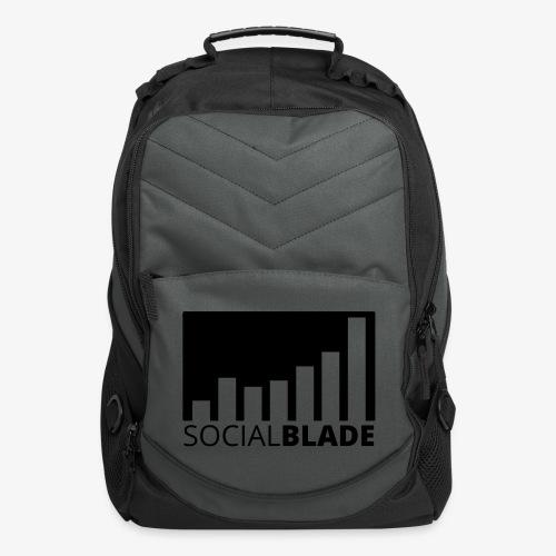 SB Blackout Logo - Computer Backpack