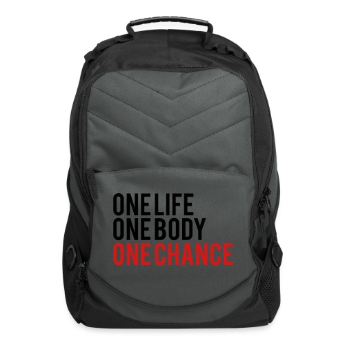 One Life One Body One Chance - Computer Backpack