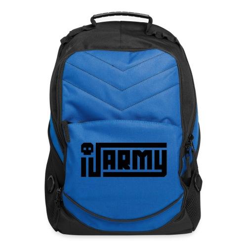 iJustine - iJ Army Logo - Computer Backpack