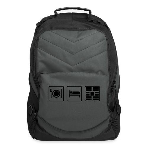 Eat Sleep Urb big fork - Computer Backpack
