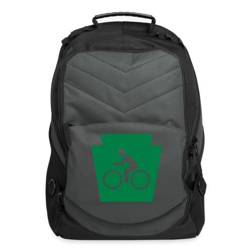 PA Keystone w/Bike (bicycle) - Computer Backpack