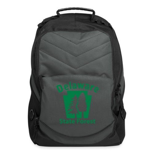 Delaware State Forest Keystone (w/trees) - Computer Backpack