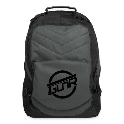 GunRCircleNoOutlineOneCol - Computer Backpack