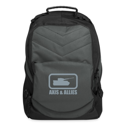 Tank Logo with Axis & Allies text - Multi-color - Computer Backpack