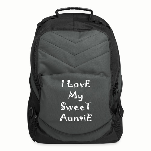 I love my sweet auntie - Computer Backpack