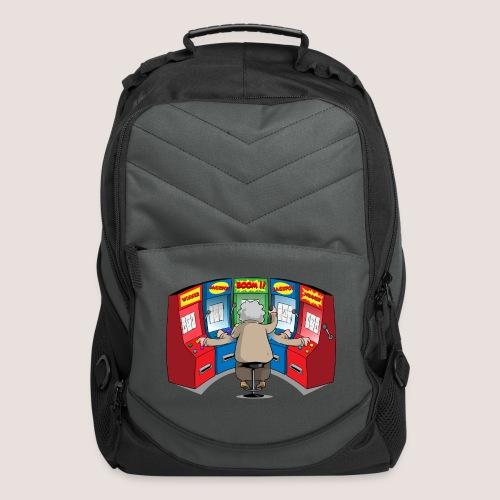 THE GAMBLIN' GRANNY - Computer Backpack