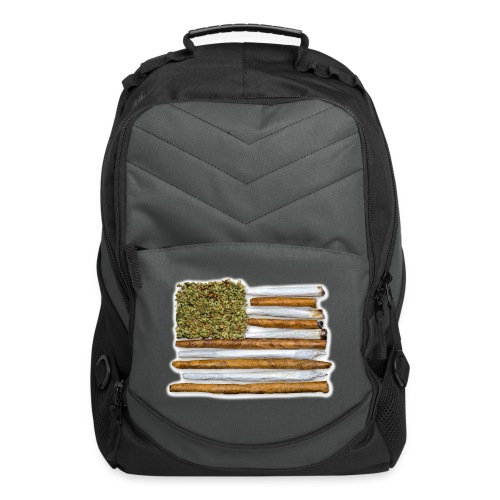 American Flag With Joint - Computer Backpack