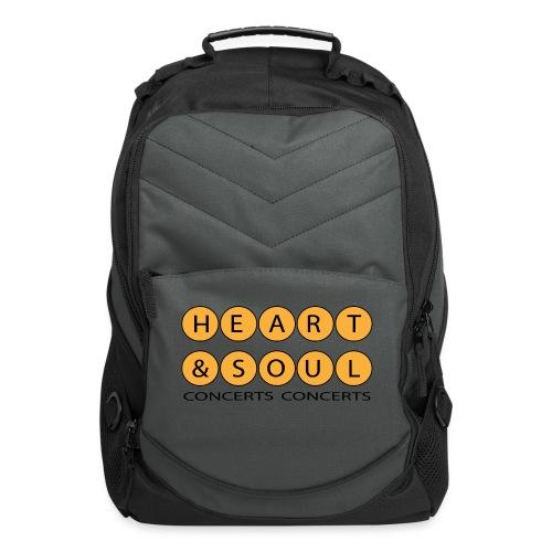 Heart Soul Concerts Golden Bubble horizon - Computer Backpack