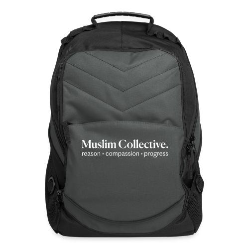 Muslim Collective Logo + tagline - Computer Backpack