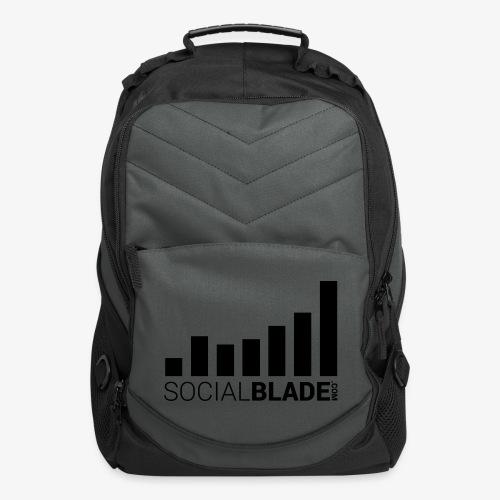 Socialblade (Dark) - Computer Backpack