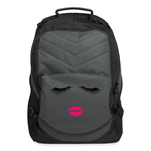 Lipstick and Eyelashes - Computer Backpack