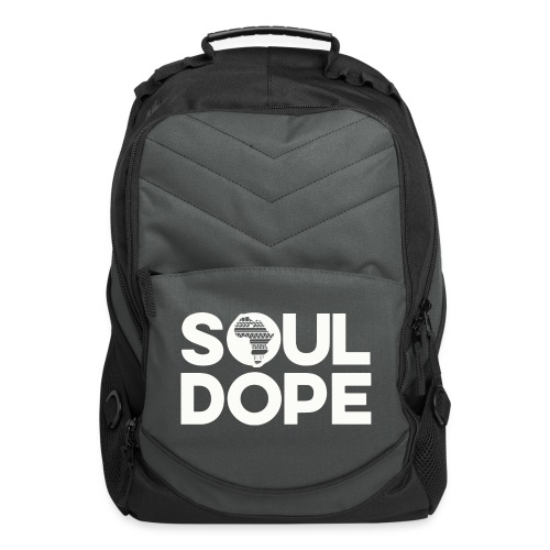 souldope white tee - Computer Backpack